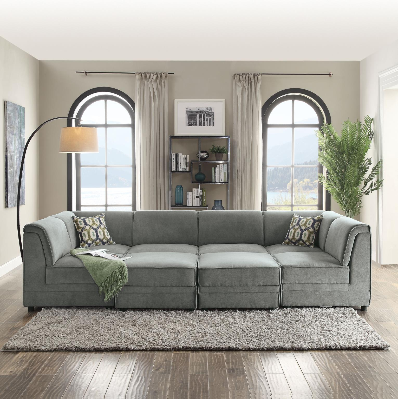 Bois I Modular Convertible Sectional Sofa Throughout Convertible Sofas (View 15 of 15)