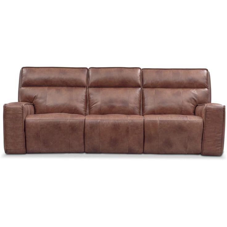 Bradley Triple Power Reclining Sofa | Value City Furniture With Charleston Triple Power Reclining Sofas (View 11 of 15)
