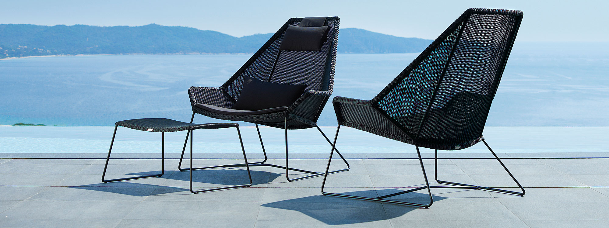Breeze Modern Outdoor Lounge Furniture, Cane Line All Regarding Outdoor Sofas And Chairs (View 6 of 15)