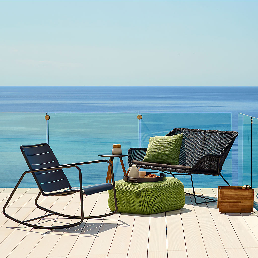 Breeze Modern Outdoor Lounge Furniture, Cane Line All With Regard To Contemporary Sofas And Chairs (View 5 of 15)