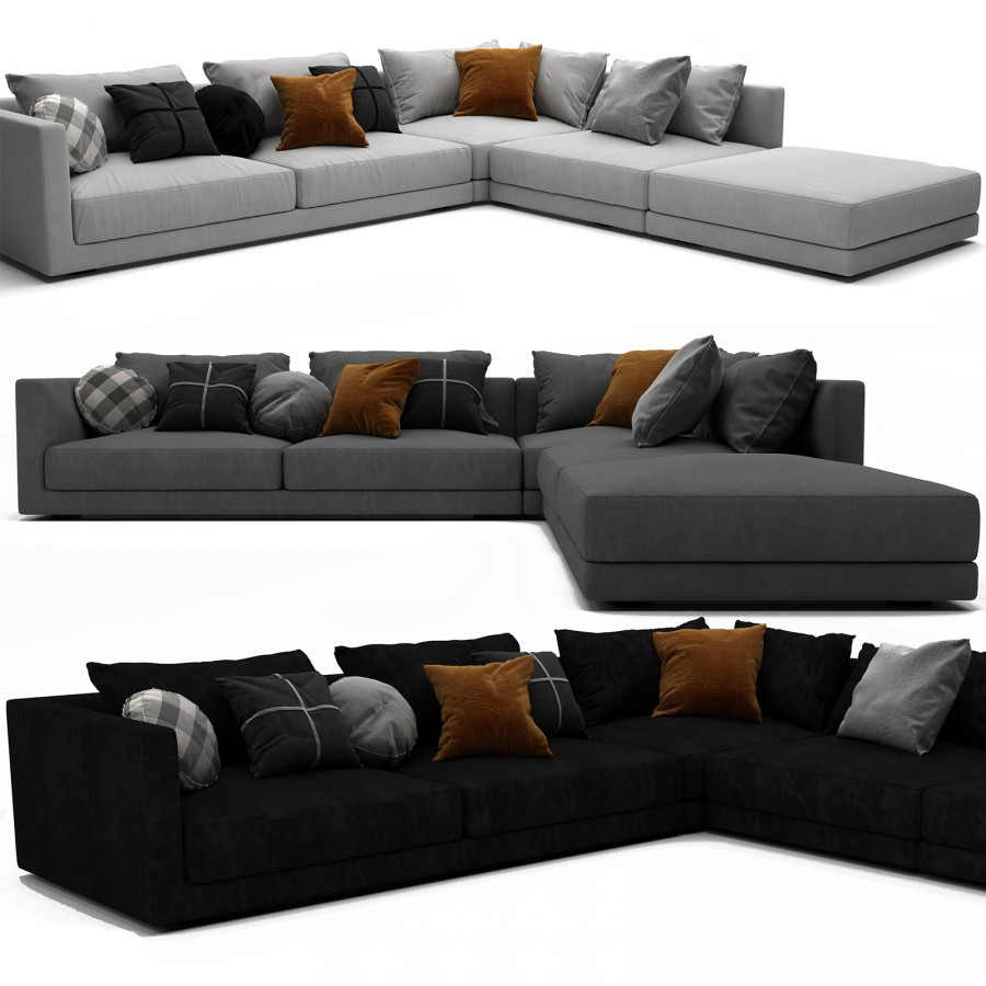 Bristol Sofa Set 01 – 3D Model For Vray With Regard To Bristol Sofas (View 7 of 15)