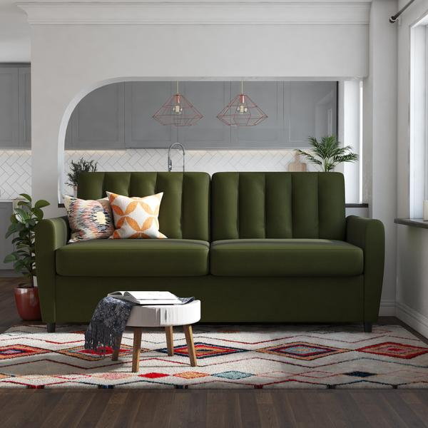 Brittany Sleeper Sofa – Queen | Sofa Bed Sleeper, Sleeper Inside Brittany Sectional Futon Sofas (View 9 of 15)