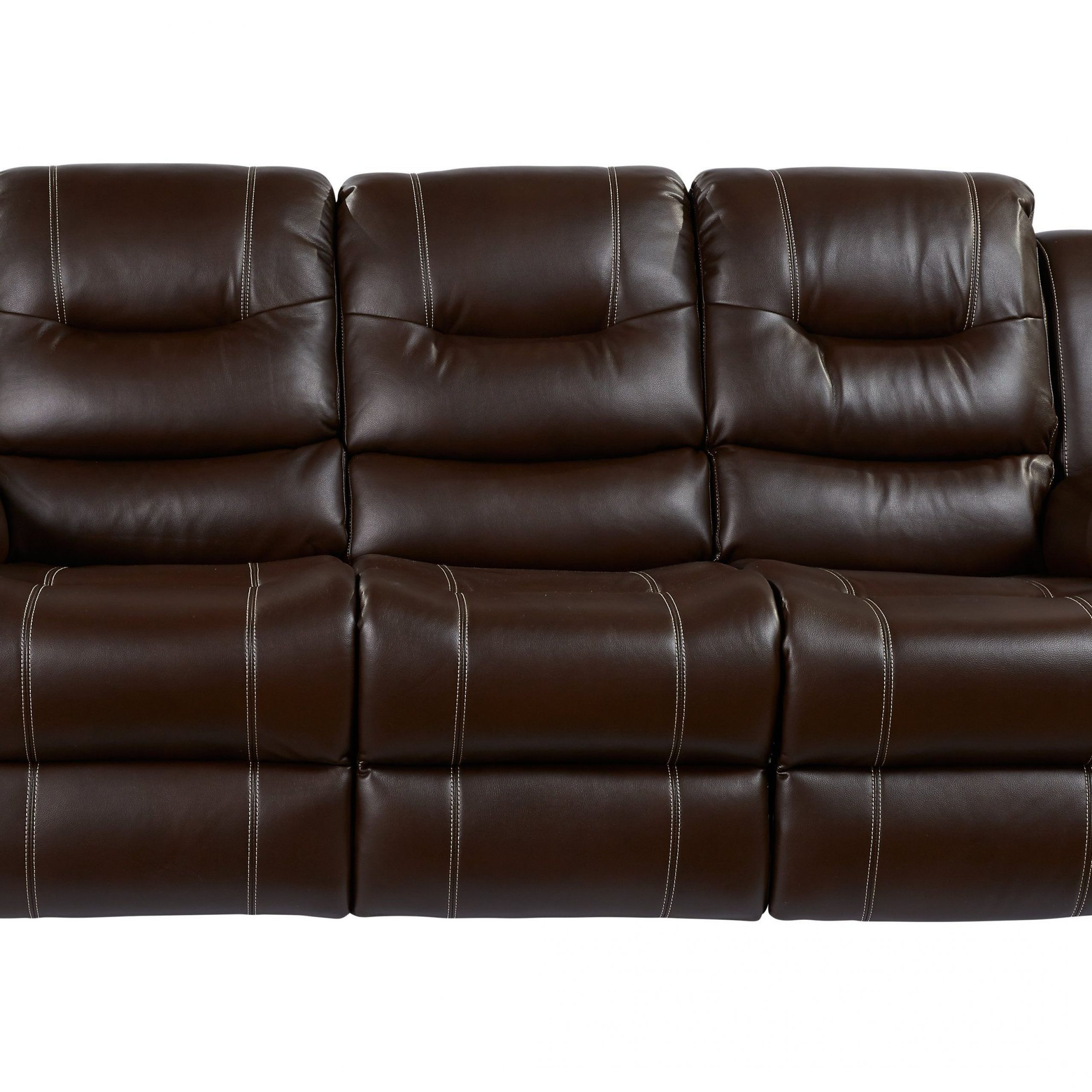 Brown Leather Sofa Living Room, Reclining Sofa, Affordable In Marco Leather Power Reclining Sofas (View 7 of 15)