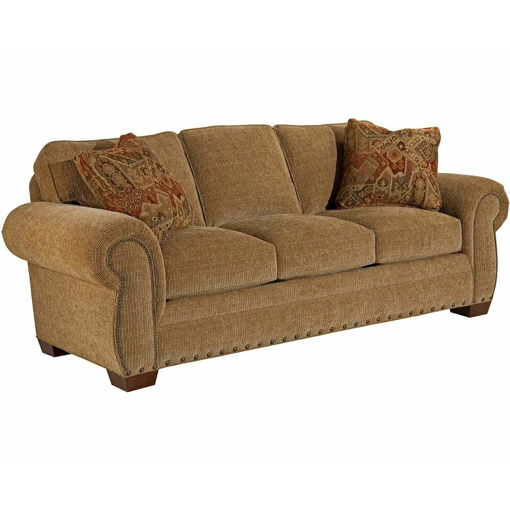Broyhill® Cambridge Queen Sleeper Sofa & Reviews | Wayfair With Regard To Broyhill Sectional Sofas (View 6 of 15)
