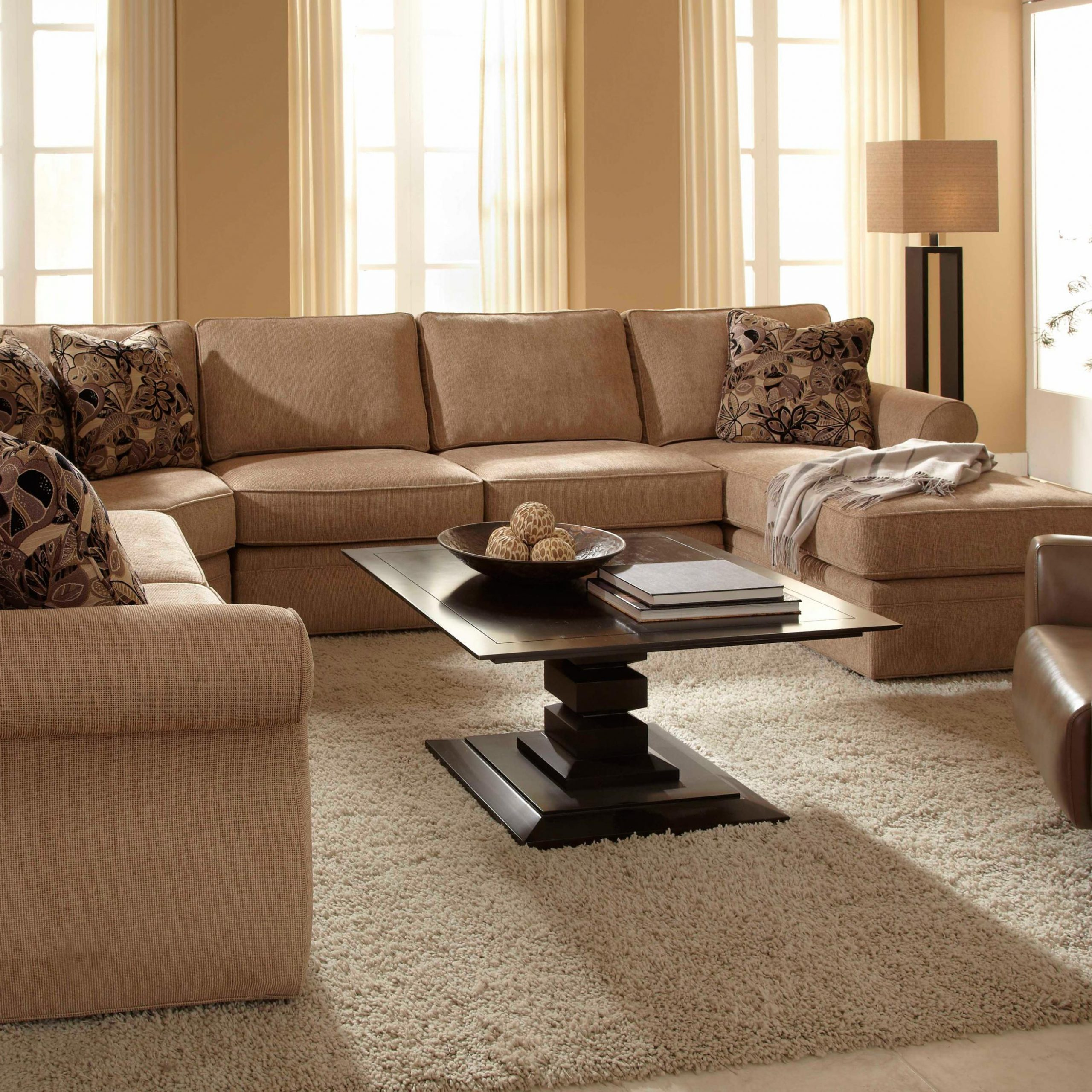 Broyhill Express Veronica Quick Ship Sectional Sofa Group With Regard To Broyhill Sectional Sofas (View 11 of 15)