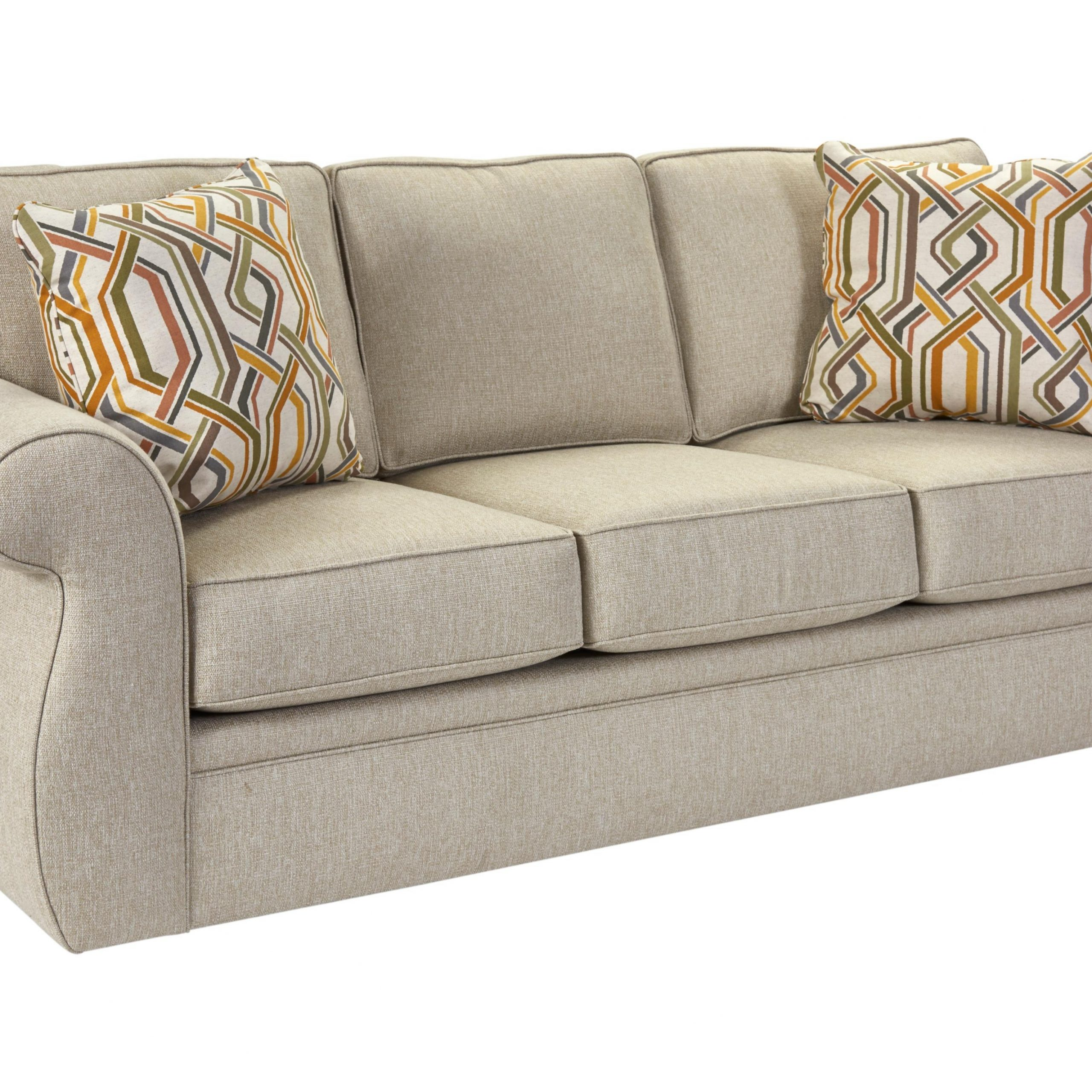 Broyhill Furniture Veronica Traditional Sofa With Oversize Within Broyhill Sectional Sofas (Photo 2 of 15)