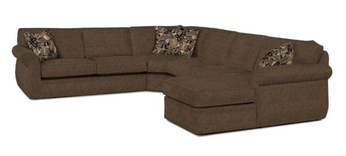 Broyhill – Veronica 2 Piece Sectional Sofa With Broyhill Sectional Sofas (View 15 of 15)