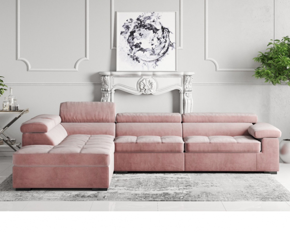 Buy Anna Fabric Corner Sofa – Brand New Online In London Within Fabric Sofas (View 7 of 15)