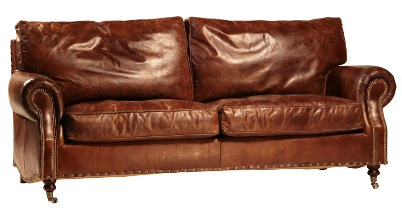 Buy Custom English Arm Leather Sofa, Made To Order From Regarding Customized Sofas (View 13 of 15)