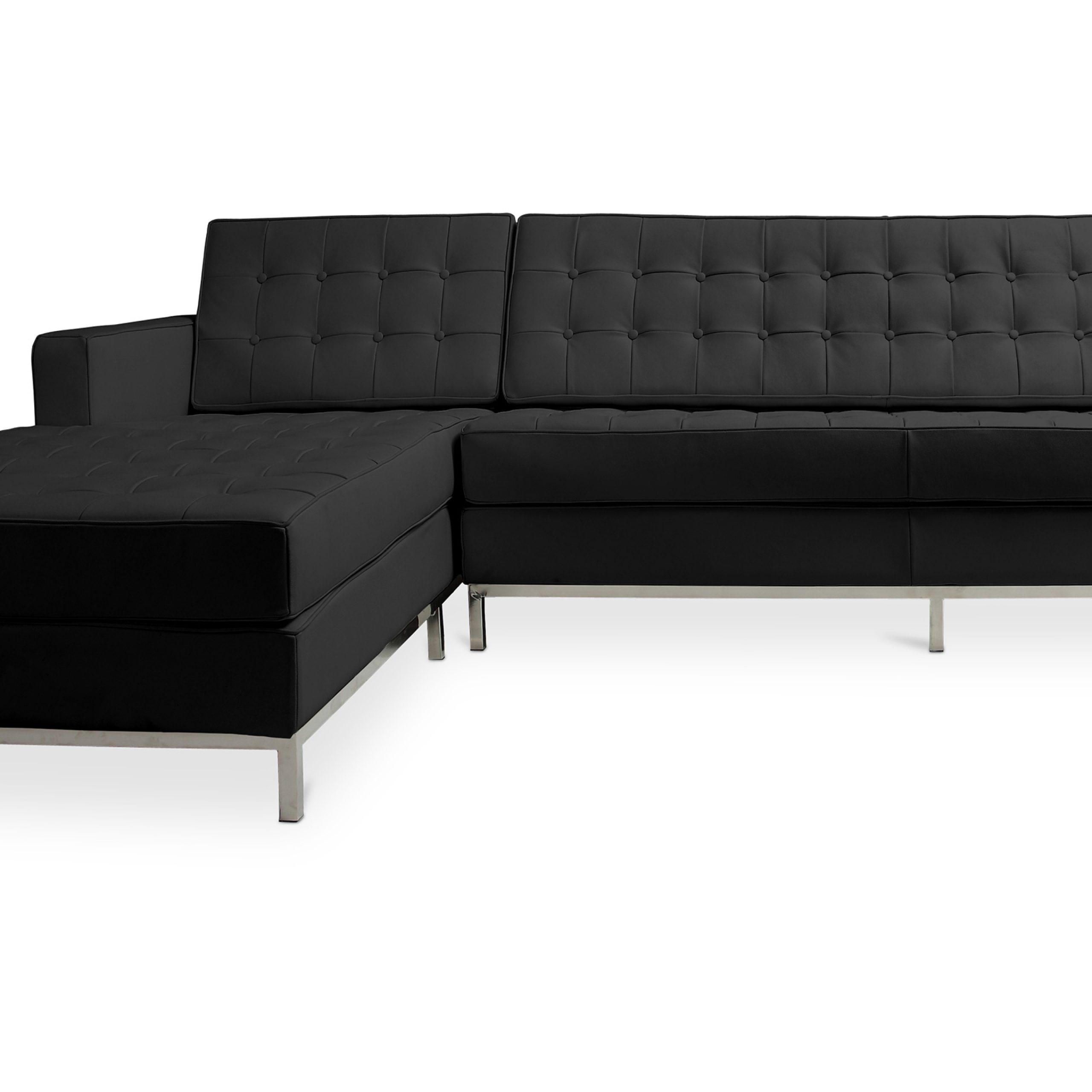 Buy Design Corner Sofa Florence Knoll Style – Left Angle Within Florence Knoll Style Sofas (View 7 of 15)