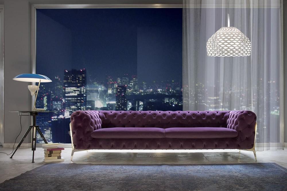 Calia Italia Belle Epoque Sofa – Sofas – Sofas For Sofas And Chairs (View 14 of 15)