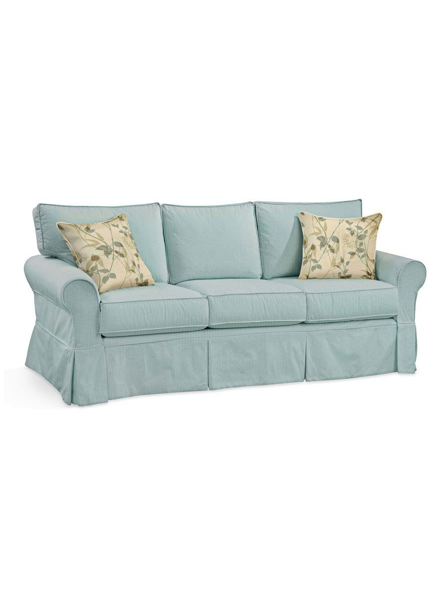 Camden Slipcovered Sofa   Cottage Home®   Slipcovered Sofa With Cottage Style Sofas And Chairs (View 4 of 15)