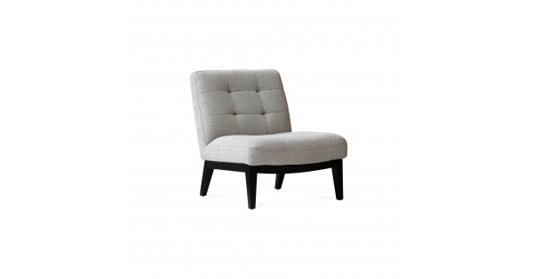 Canyon Lounge Chair Light Grey Fabric With Regard To Antonio Light Gray Leather Sofas (View 11 of 15)