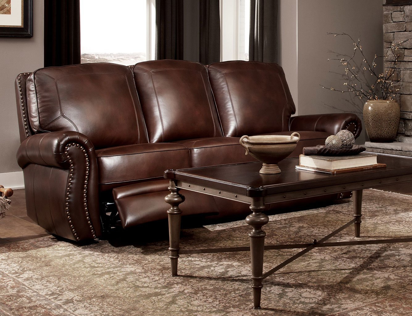 Carress 07 Power Reclining Sofa Craftmaster | Furniture Cart Within Raven Power Reclining Sofas (View 5 of 15)