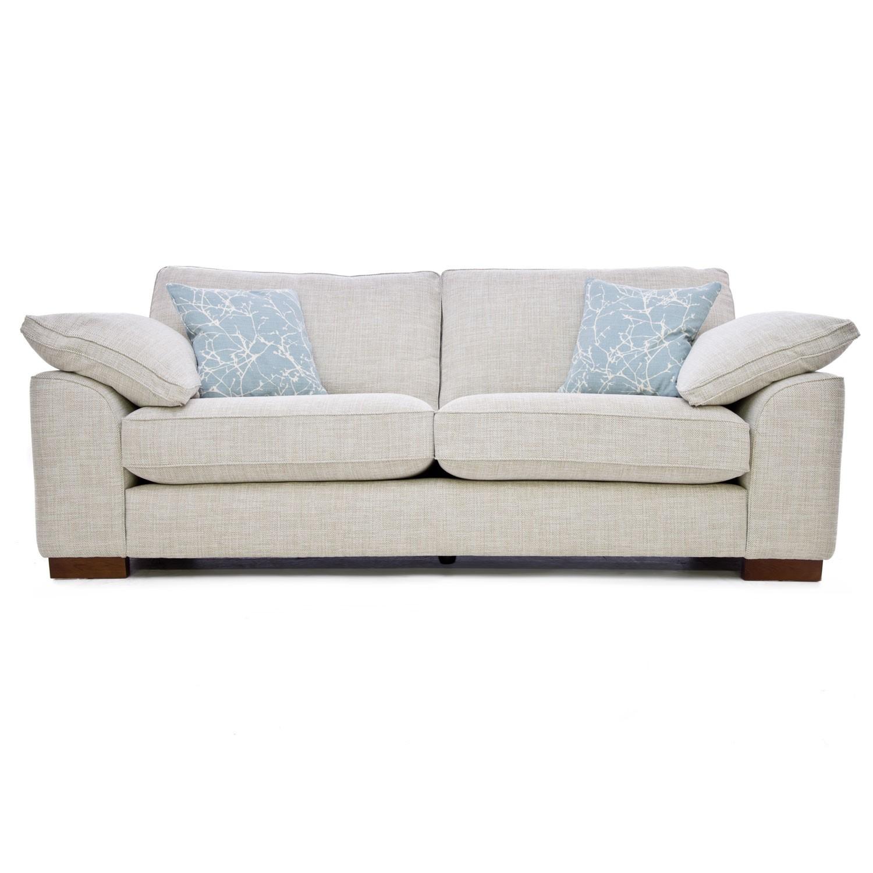 Casa Blaise 4 Seater Sofa | Leekes Inside Four Seater Sofas (View 7 of 15)