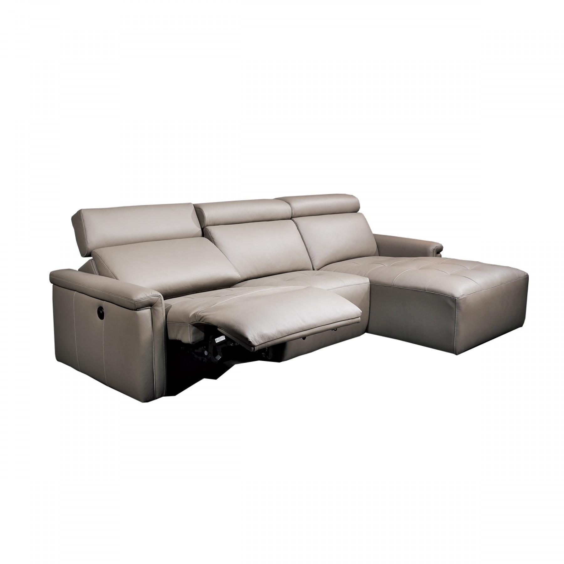 Casale Chaise With Recliner – Beyond Furniture Pertaining To Sofa Lounge Chairs (View 12 of 15)