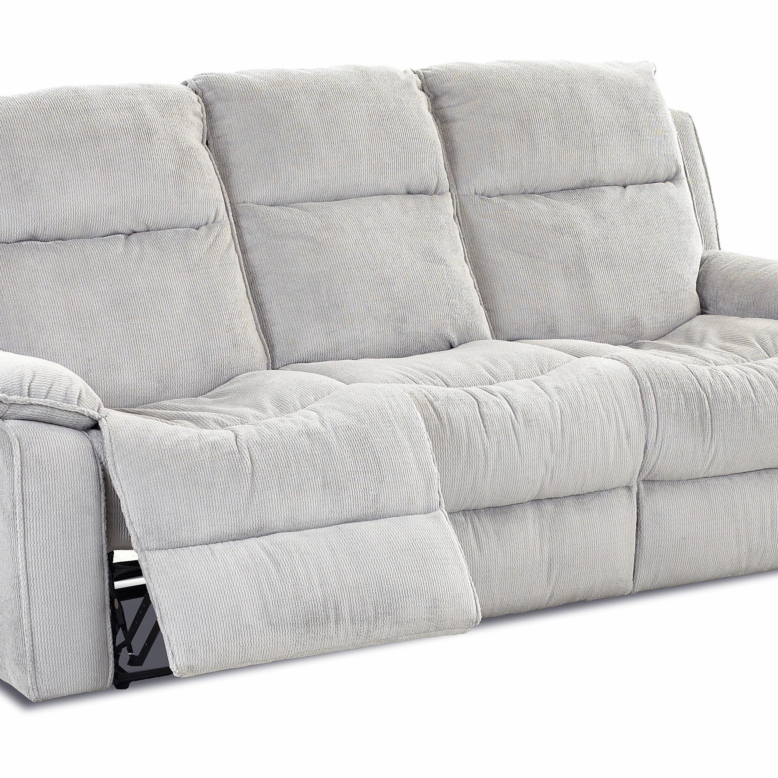 Casual Power Reclining Sofa With Bucket Seatsklaussner Regarding Casual Sofas And Chairs (View 11 of 15)