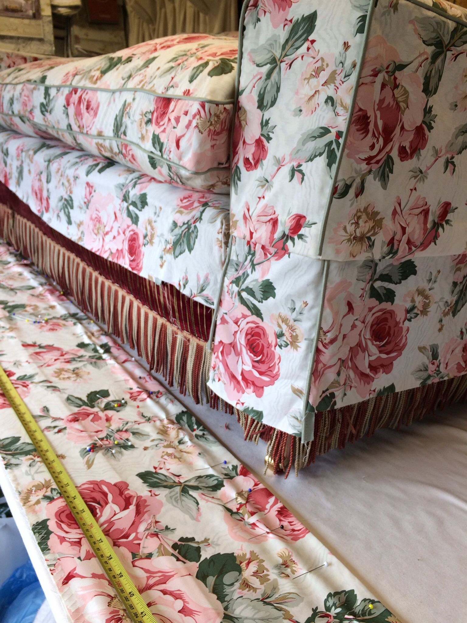 Cecil Beaton'S Reddish Chintz Will Soon Once More Cover Intended For Chintz Covered Sofas (View 14 of 15)