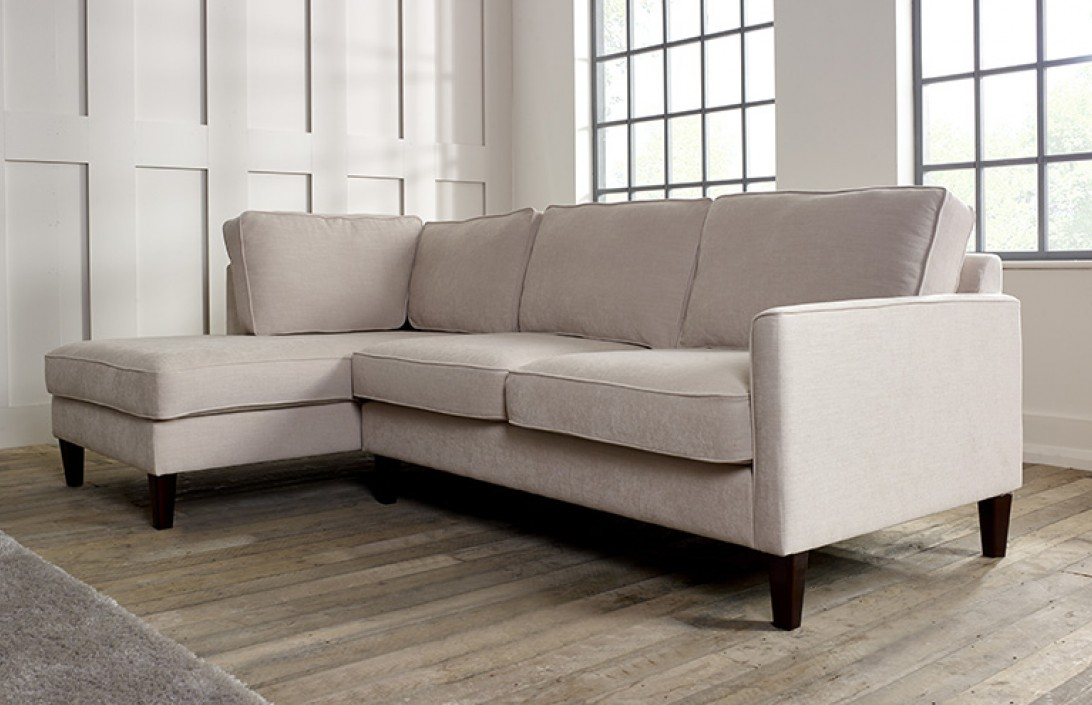 """Chaise Lounge Sofa Bed — Tom Adams Furniture From """"Small Pertaining To Hadley Small Space Sectional Futon Sofas (View 1 of 15)"""