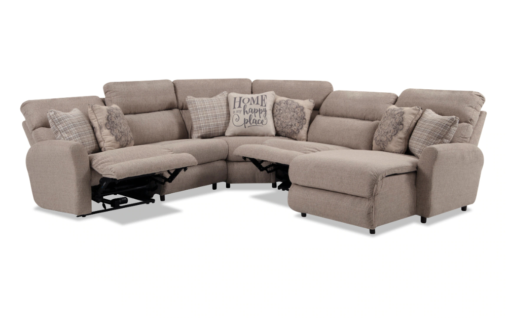 Charleston 5 Piece Left Arm Facing Power Reclining With Regard To Charleston Power Reclining Sofas (View 5 of 15)