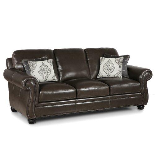 Charleston Leather Sofa | Wayfair With Regard To Charleston Sofas (View 3 of 15)
