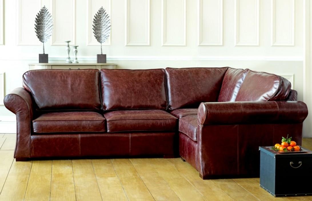 Chatsworth Comfy Corner Sofa  Leather Sofas Regarding Leather Corner Sofas (View 15 of 15)