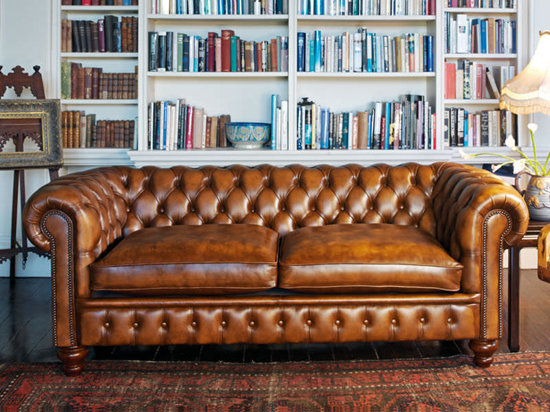 Chesterfield Sofa – Cromwell – Fleming & Howland – Leather Intended For Chesterfield Sofas (View 7 of 15)