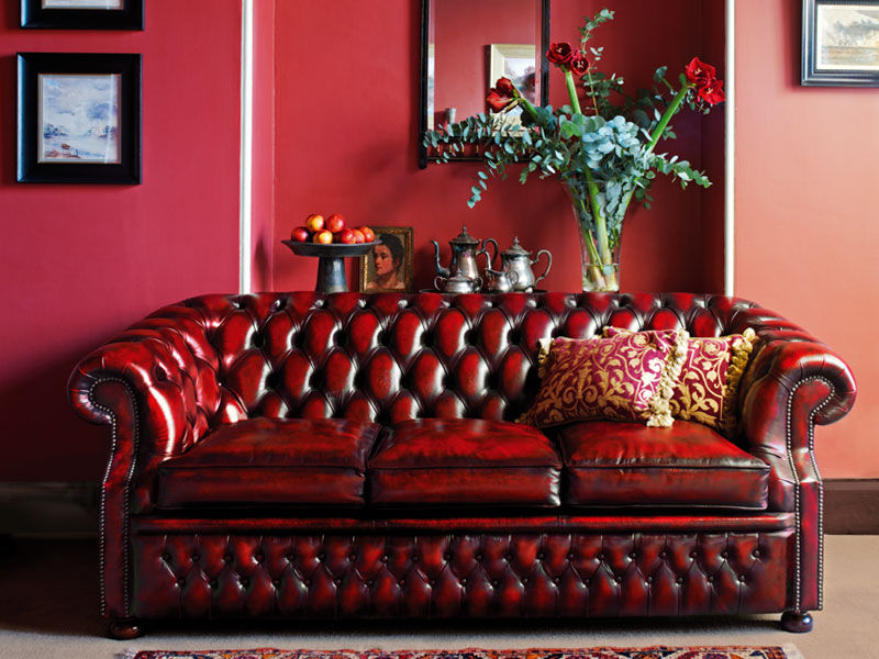 Chesterfield Sofa – Graham – Fleming & Howland – Leather Within Cromwell Modular Sectional Sofas (View 11 of 15)