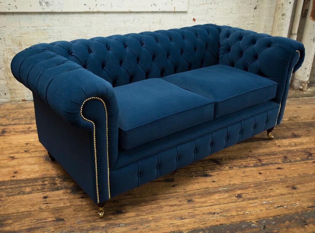 Chesterfield Sofas | Ashley Velvet Chesterfield Sofa Throughout Chesterfield Sofas And Chairs (View 8 of 15)