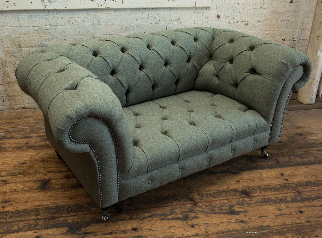 Chesterfield Sofas | Romford Wool Chesterfield Sofa Intended For Chesterfield Sofas And Chairs (View 10 of 15)
