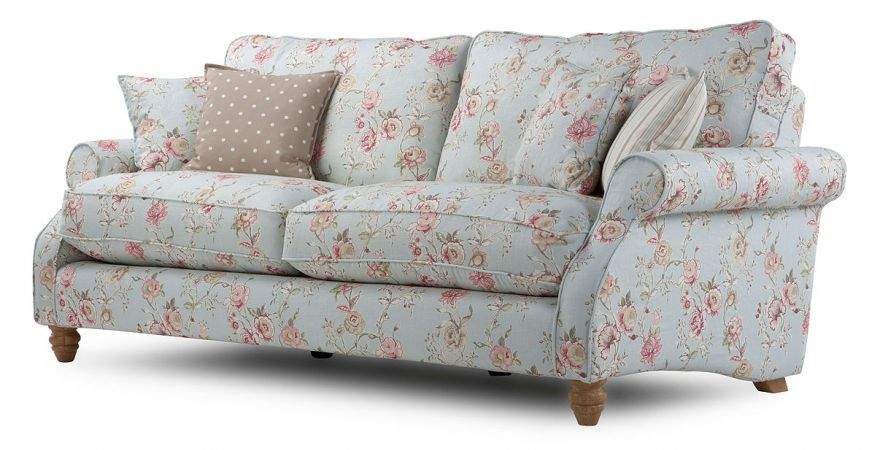 Chiltern Grand Floral Sofa   Floral Sofa, Furniture With Floral Sofas And Chairs (View 8 of 15)