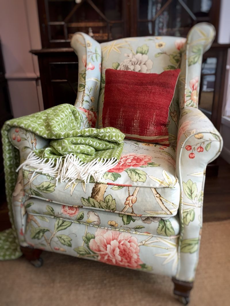 Chintz Covered Sofas Pertaining To Chintz Floral Sofas (View 2 of 15)