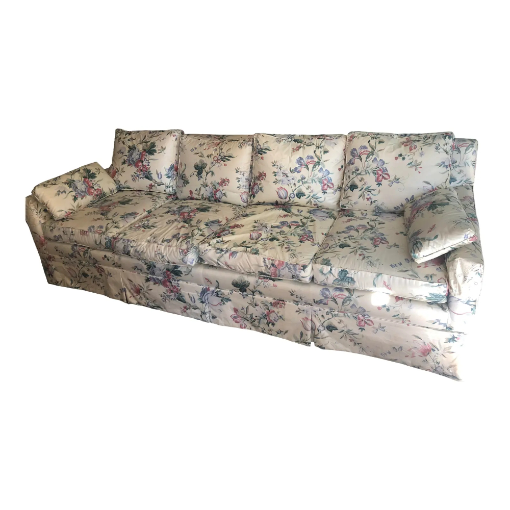 Chintz Floral Sofa | Chairish (With Images) | Floral Sofa Intended For Chintz Covered Sofas (View 6 of 15)