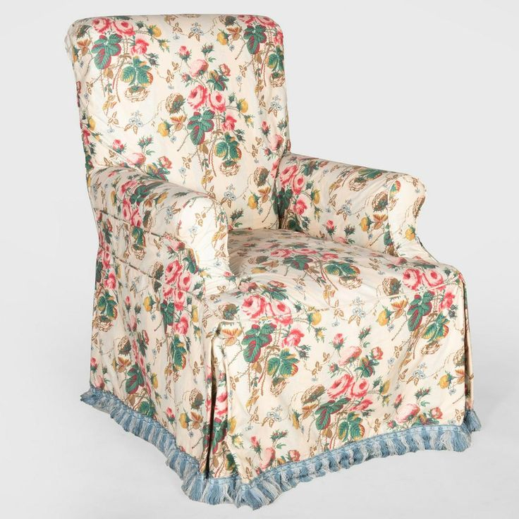 Chintz Slip Covered Armchair – Oct 05, 2019 | Stair In Ny With Chintz Sofas And Chairs (View 15 of 15)