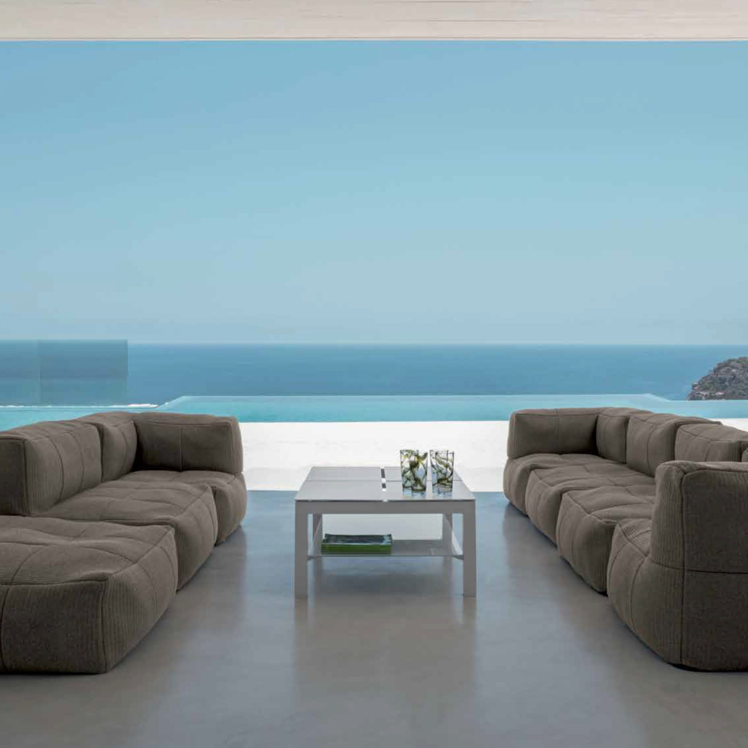 Cielo Bean Bag Modular Sofa – Couture Outdoor Throughout Outdoor Sofa Chairs (View 10 of 15)
