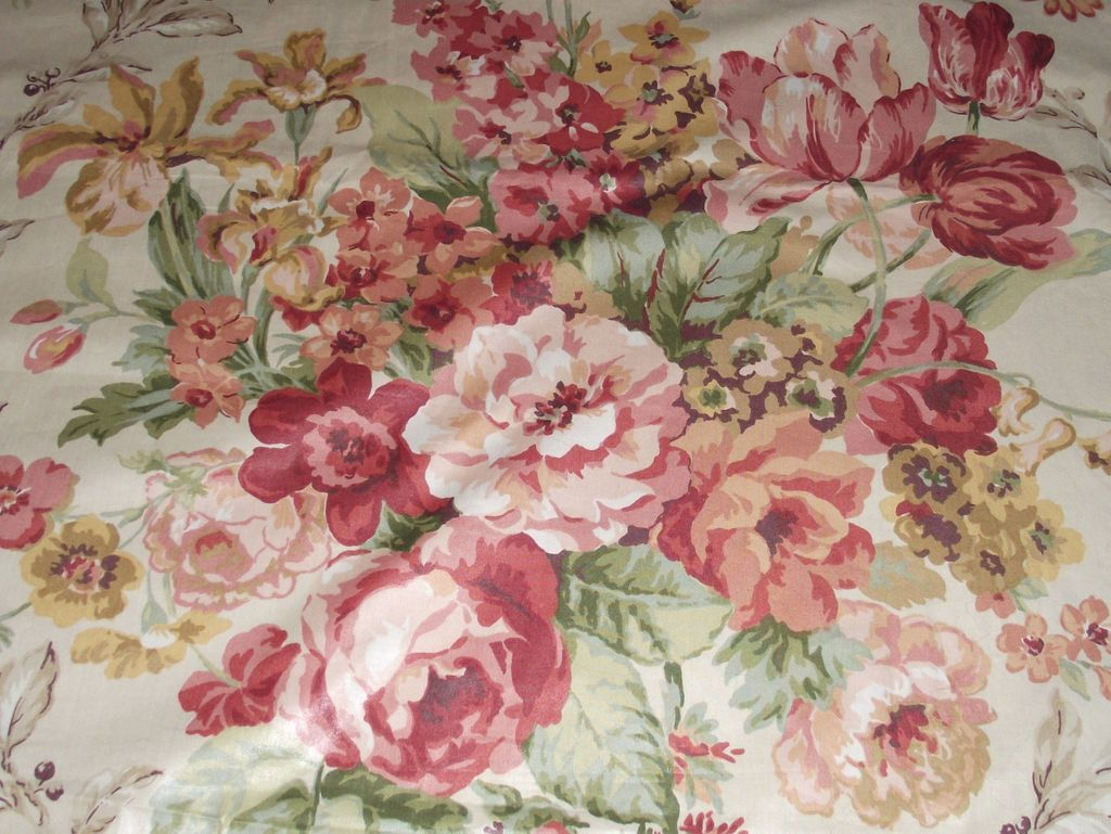 Classic English Floral Chintz – Comfortable Home Pertaining To Chintz Fabric Sofas (View 8 of 15)