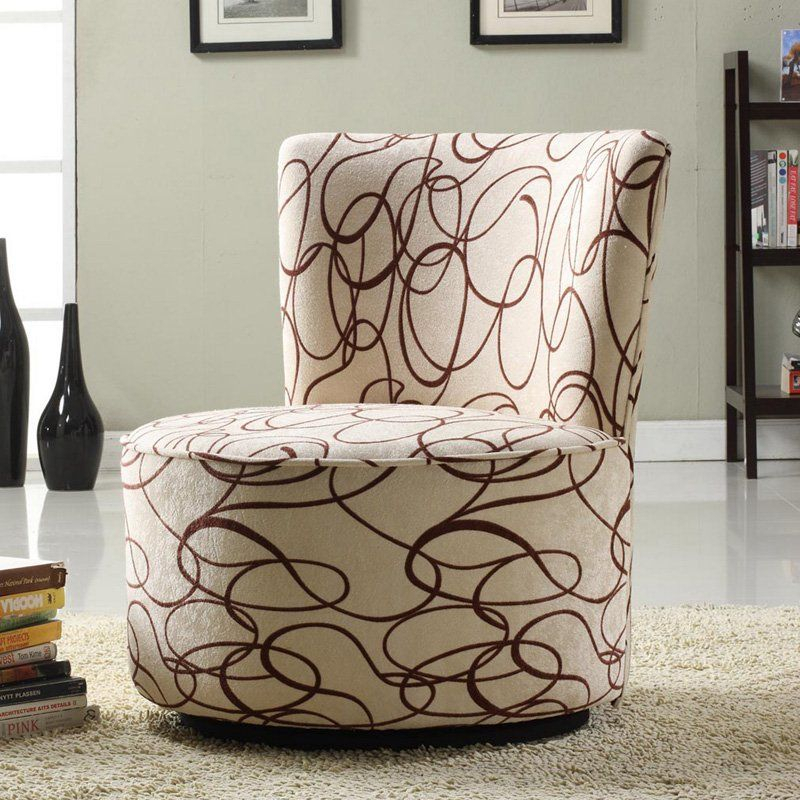 Club Chairs | Hayneedle | Round Swivel Chair, Fabric Within Round Swivel Sofa Chairs (View 11 of 15)