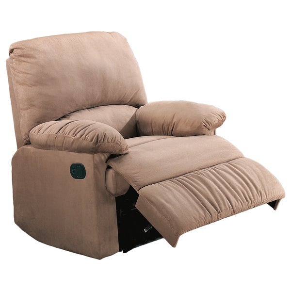 Coaster Company Casual Microfiber Recliner Chair Intended For Colby Manual Reclining Sofas (View 5 of 15)