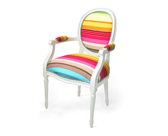 Colorful Classic Chair Deisgn Ideas Louis Xv Upholstered With Colorful Sofas And Chairs (View 12 of 15)