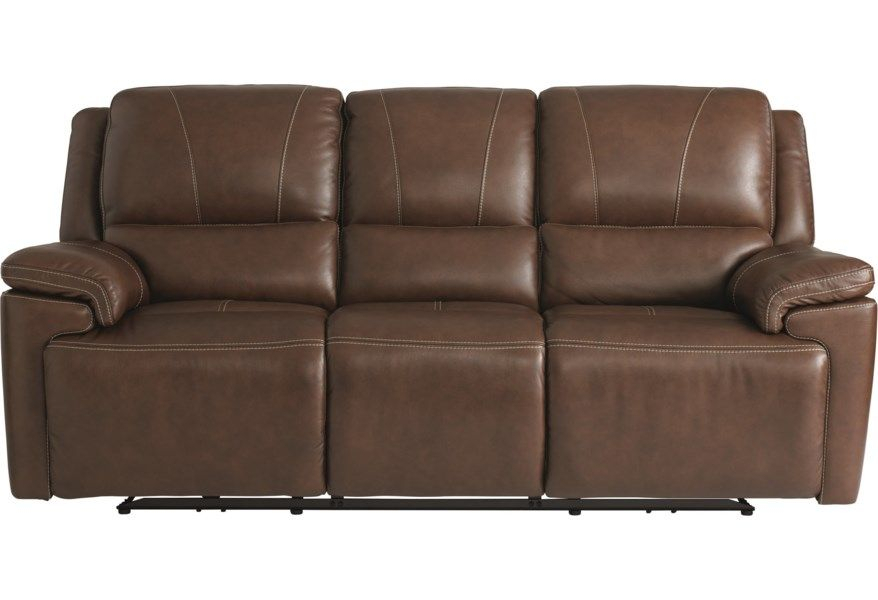 Colton Club Level Double Reclining Sofa With Power Within Charleston Power Reclining Sofas (View 13 of 15)