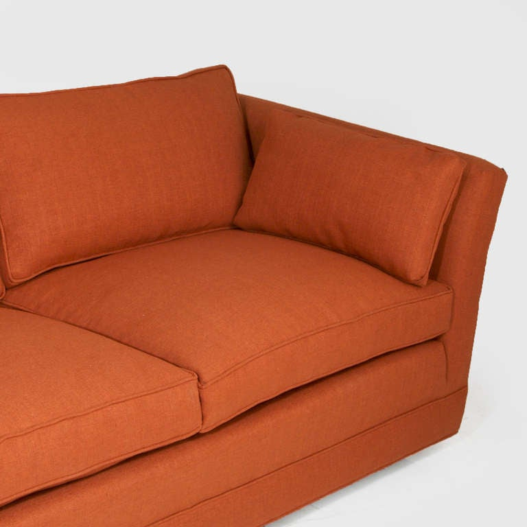 Comfortable Vintage Sofa With Down Filled Cushions In The Inside Down Filled Sofas (View 14 of 15)