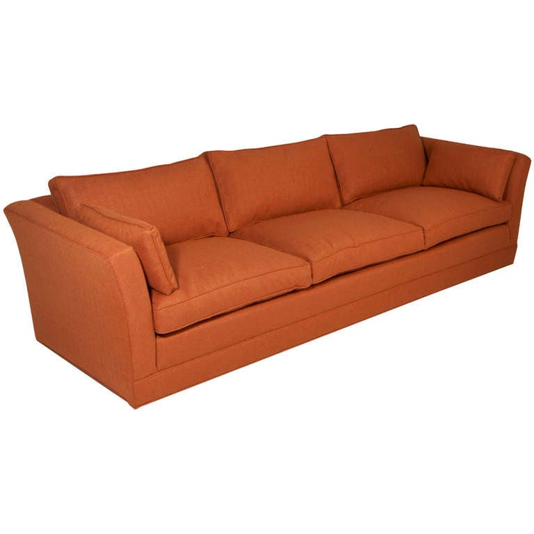 Comfortable Vintage Sofa With Down Filled Cushions In The Regarding Down Filled Sofas (View 12 of 15)