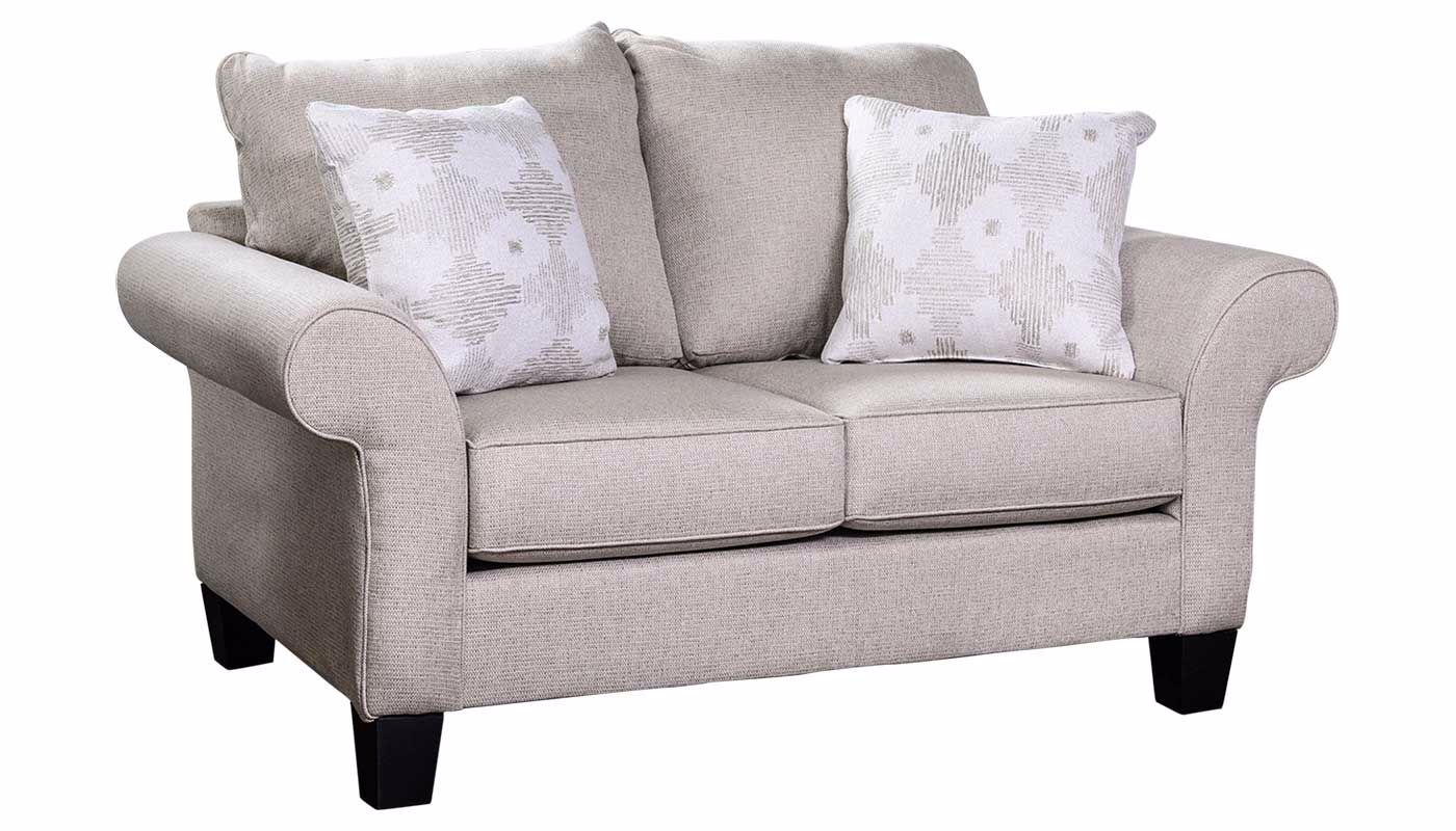 Conrad Sofa, Loveseat & Chair – Home Zone Furniture With Sofa Chairs For Bedroom (View 12 of 15)