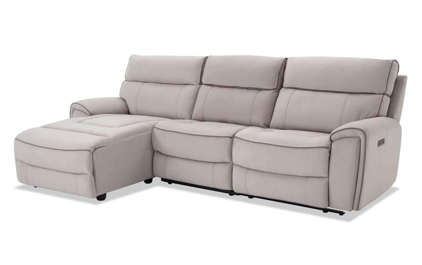 Contempo 3 Piece Power Reclining Right Arm Facing For Contempo Power Reclining Sofas (View 8 of 15)