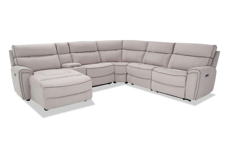 Contempo 6 Piece Power Reclining Right Arm Facing With Regard To Contempo Power Reclining Sofas (View 2 of 15)