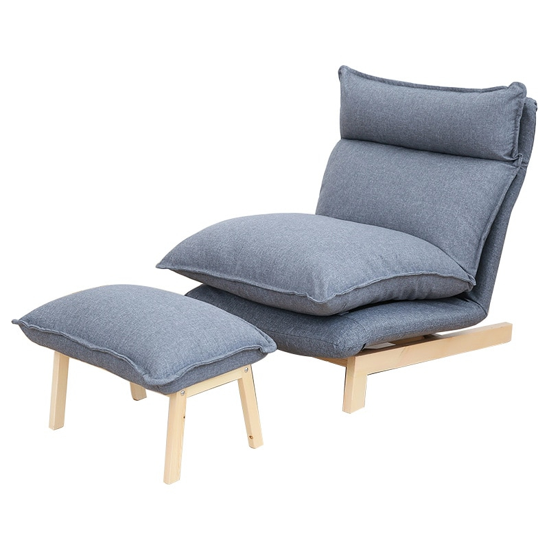Contemporary Folding Lazy Sofa Chair Japanese Style Throughout Folding Sofa Chairs (View 11 of 15)