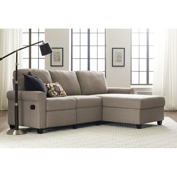 """Copenhagen 89"""" Reclining Sectional In 2020 