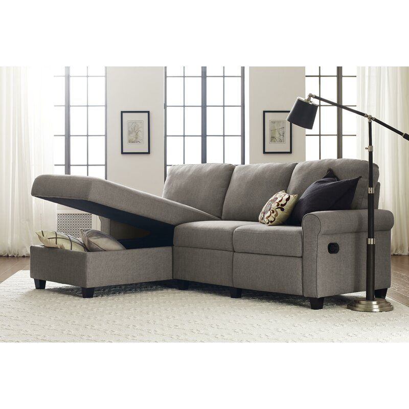 """Copenhagen 89"""" Reclining Sofa & Chaise In 2020 