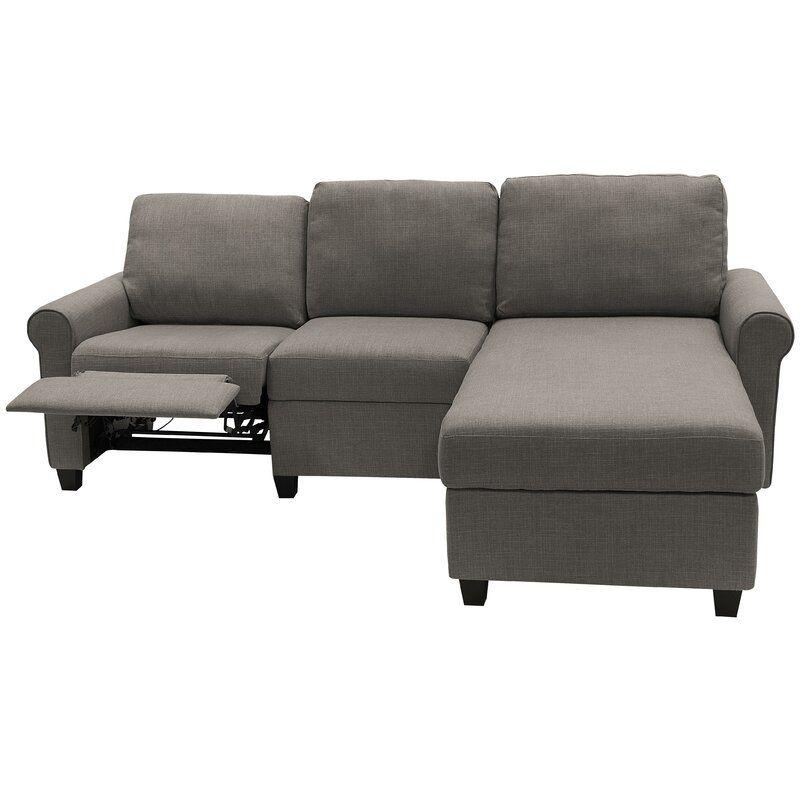 "Copenhagen 89"" Wide Reclining Sofa & Chaise | Storage In Copenhagen Reclining Sectional Sofas With Left Storage Chaise (View 13 of 15)"