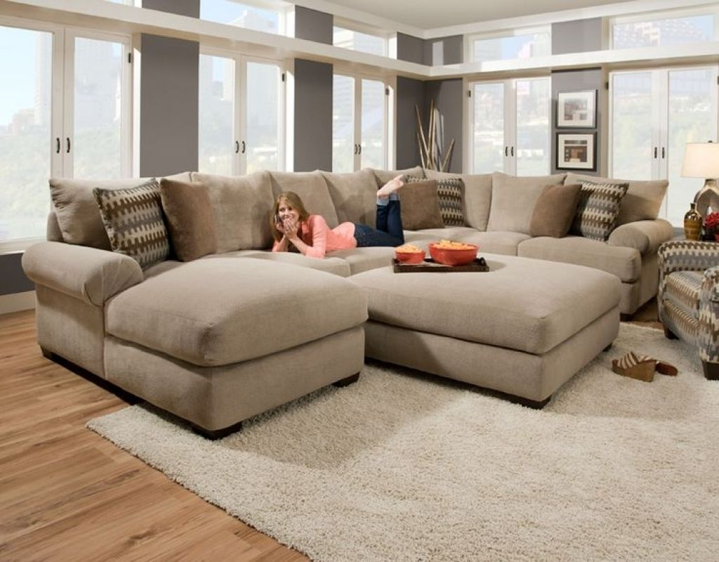 Cozy Sectional Sofas Loric Smoke 3 Piece Sectional W Raf Inside Live It Cozy Sectional Sofa Beds With Storage (View 15 of 15)